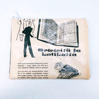 LIFE AND BOOKS|OLD PAPER POUCH (L)10-5