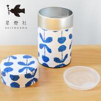 星燈社 紅茶に似合う図案の茶筒『夜明け』