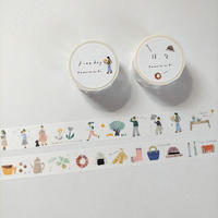 田村美紀|マスキングテープ「日々」「Fineday」セット