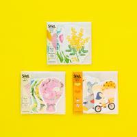 【5月号掲載分】rala design 贈る場面に合わせて選べるsoelフラワーシリーズ