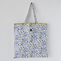 """相原暦 square bag """"nostalgia"""" (blue)"""