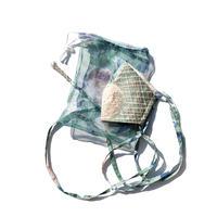 YUMI YOSHIMOTO|マスクケース付き、ボタニカル柄マスク