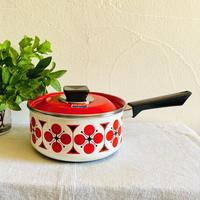 【7月号掲載分】houti HOYA HORO 可愛い柄の片手鍋 18センチ