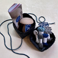 Darning by HIKARU NOGUCH|夏のハンパー ダーニングに必要なものがそろった 夏の針仕事にぴったりのハンパー <BLUE>