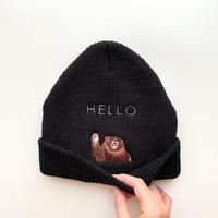 slowth ニット帽【HELLO】