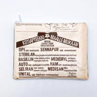 LIFE AND BOOKS|OLD PAPER POUCH (L)13