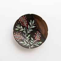 【7月号掲載分】みかガマ|6ナンテン黒豆皿