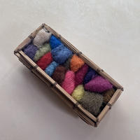 Darning by HIKARU NOGUCH|秋のダーニング 泡粒モヘア糸17色 ハンパー