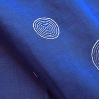 華市松|手拭い「H1014:年輪(紺色)」