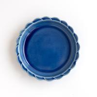 ceramic studio blank 8スカラップリム・フルーツ皿 148mm 瑠璃