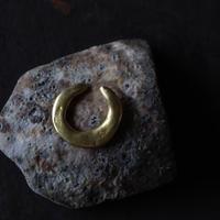 田中友紀|ear cuff brass