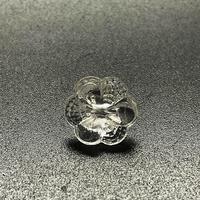 CO- | 【デッドストック】 クリアガラスボタン10個セット10
