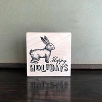 ハチマクラ|USAスタンプ(1038F)Rabbit_Holiday