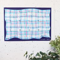 36 Sublo (サブロ)|ポスターカレンダー2022「Fabric」blue