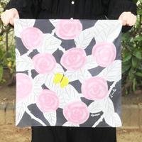 Loule(ロル)|網中いづるハンカチ「蝶のブローチ」