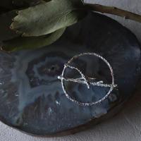 田中友紀|object brooch [ 葦 ] silver