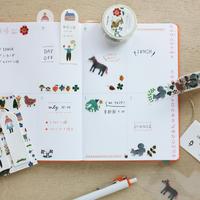 【6月号掲載分】表現社 cozyca products AikoFukawa「手帳デコ」セット