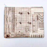 LIFE AND BOOKS|OLD PAPER POUCH (L)3