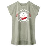 キャラT34 たこさんwinなー ミニハンバーグのナイスくん* ワンピースタイプTシャツ