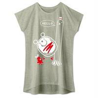 キャラT33 たこさんwinなー HELLO* ワンピースタイプTシャツ