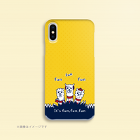 B*iPhone XR/XSMax/iPhone6Plus/6sPlus/7Plus/8Plus*あるぱかイズムのスマホケース*funfunfun