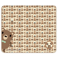 19-04TNDo*サンビキノクマの帯なし手帳型スマホケースD