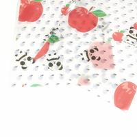 ラッピング袋 Sサイズ★ホワイト*ズレぱんだちゃんのリンゴ食べたの誰?