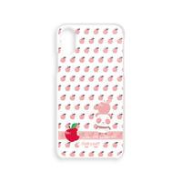 A*ハードケース*iPhone 11Pro/11/XR/XS/X/8/7/6/5/5s/SE*リンゴ食べたの誰?*ピンク*8SH1919P