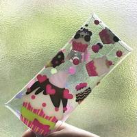 クリアマルチケース*ズレちゃんDEカップケーキ*CA1924MC