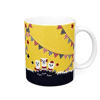 un fun funあるぱかイズムのガーランドスタイルのマグカップ