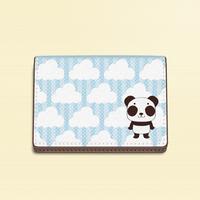 カードケース*ズレぱんだちゃんのイチゴ雲*5KCca10
