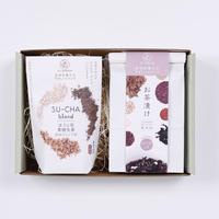 【Su-balance】お茶漬け(ほうじ茶しそ),ほうじ茶黒糖生姜 ギフトセット