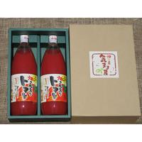 【高島さんのお歳暮ギフト】人気のトマトジュース1ℓ2本セット 化粧箱入