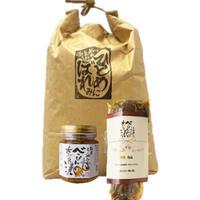 【上久保さんの新米×ご飯のお供セット】べっぴん奈良漬 和風らー油・芳醇白瓜付き