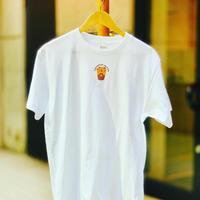 ぐんまTシャツアワード2021を受賞した MOO FACTORYTシャツ❤️胸元のワンポイント