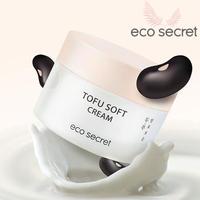【eco secret】絹とうふのようなテクスチャの発酵保湿クリーム!!発酵とうふクリーム 50ml