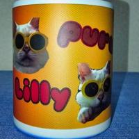 ぷー&リリー 魔法のマグカップ 【熱湯を注ぐと絵柄が現れる!】