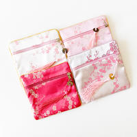 CHEONGSAM POUCH [Po po / Ume (Pink correction)]