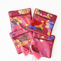 CHEONGSAM POUCH [Mama / Maroon Red]