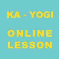 KA-YOGI  オンラインレッスン1回チケット(日曜10時もしくは水曜朝10時)