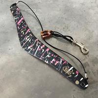 #2 PAINTS_PINK SPICE Saxophone Strap
