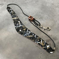 #2 PAINTS_GOLD STYLE  Saxophone Strap