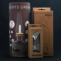 MoriMori LED ランタンスピーカー フロストガラスグローブ+専用ハンドルセット