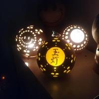 【完全受注生産】玉灯籠【手持ち花火付き】