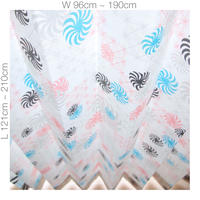"【CUSTOM CURTAINS】オーダーカーテン(遮光裏地付)""風車"":巾 96cm~190cm ・ 丈 121cm~210cm(2枚セット)"