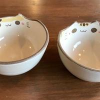 アトリエしかーださんの ネコ型小鉢