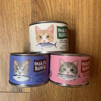 猫缶はじめました…ではなく、クリップの缶詰です!
