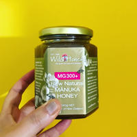 Wild Honey Raw Natural Manuka Honey MG300+ マヌカハニー
