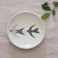 ツバメ皿 2羽