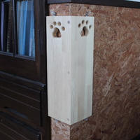 猫から柱を守る・猫から柱を守君 特許出願中